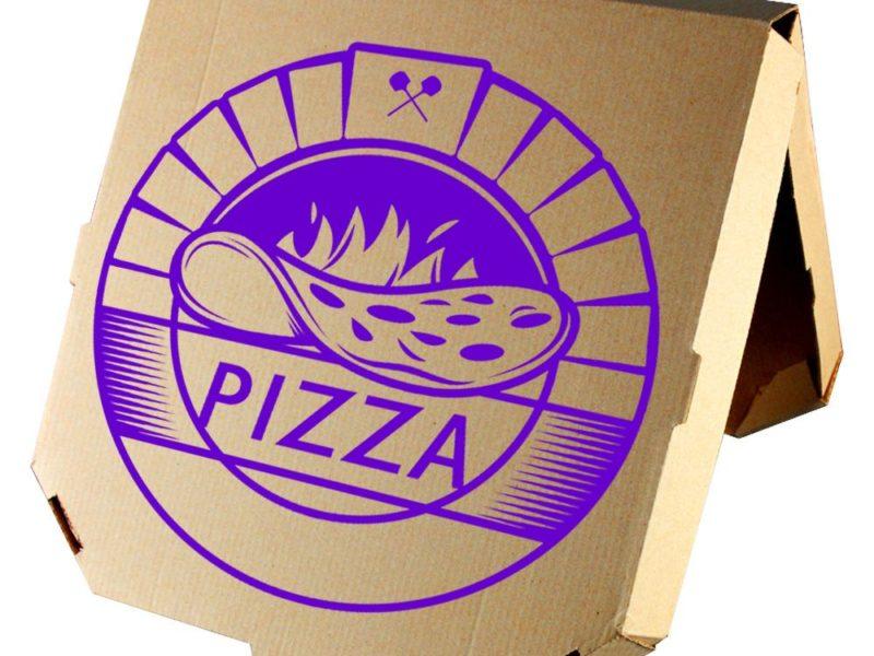 Коробоки для пиццы Минск с нанесением логотипа