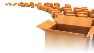 Четырехклапанные коробки под заказ