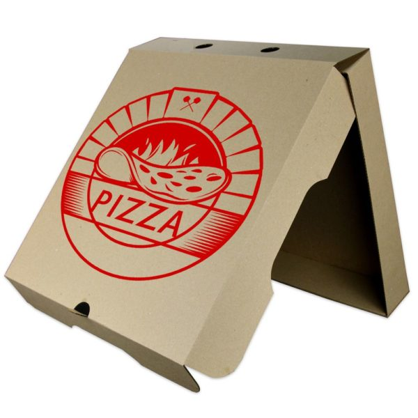 полиграфия на коробоках для пиццы