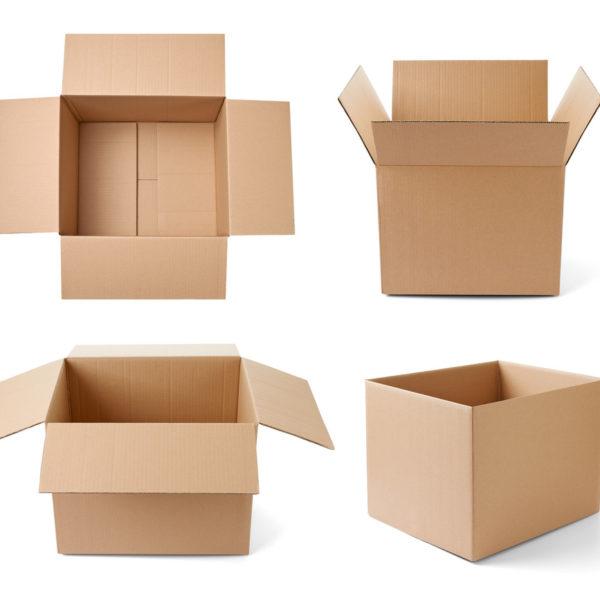 Четырехклапанные коробки в наличии