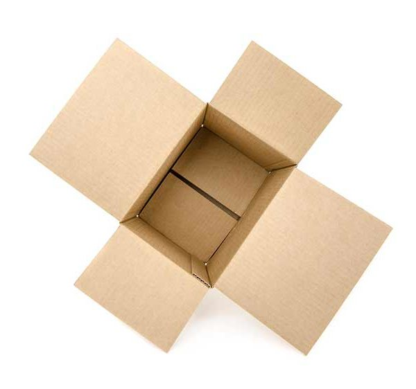 Четырехклапанные коробки со склада в Минске