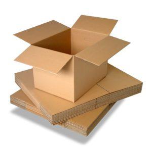 Четырехклапанные коробки производство